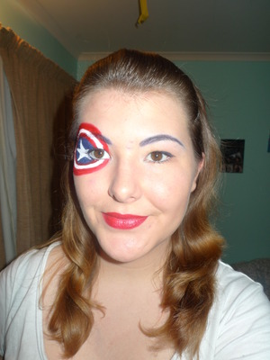 Captain America Inspired Look