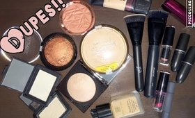 DRUGSTORE DUPES FOR HIGH END PRODUCTS