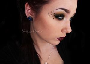 Victorian Disco Cosmetics Shadows in Luna, Sailor Galaxia and Sailor Moon