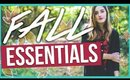 Fall/Autumn Style + Beauty Essentials 2015