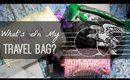 What's In My Travel Bag? | Organization & Packing Tips