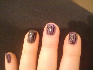 Sinful Colors: Black on Black Sephora by OPI: Iris I Was Thinner