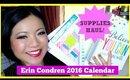 ERIN CONDREN Life Planner 2016 & Supplies HAUL!