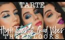 TARTE HIGH TIDES & GOOD VIBES | Three Looks + Review