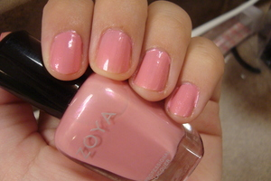 "Zoya ""barbie"" my favorite at the moment :)"