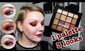 NYX Warm Neutrals palette: 3 looks, 1 review