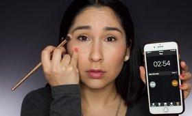 5 min makeup challenge