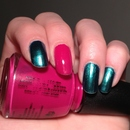 China Glaze Deviantly Darling & Designer Satin