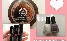 MAY 2014 BEAUTY PRODUCT FAVORITES!