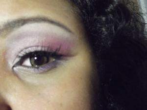 pinks and purple