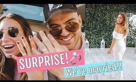 WE GOT MARRIED// WEEK IN MY LIFE!