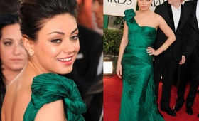 Golden Globes Makeup 2011: Mila Kunis