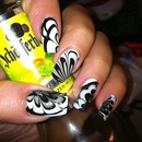 B/W Water Marble