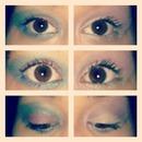 colourfull eye makeup