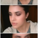 warm smoky eye