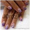 Purple-Ish Nails