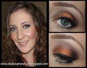 Orange/Bronze - Fall/Autumn Smokey Eye