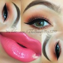 Spring Colorful makeup