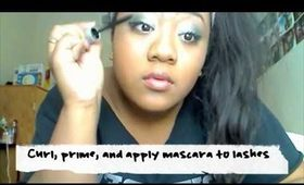 Blue Green Valentines Day Makeup Tutorial