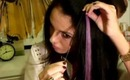 How to Apply Hair Extension Highlights (Pastel Highlights)