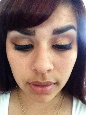Make up I did myself c: