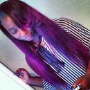 Purple Hair Vixen