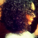 My naturally curly hair (: