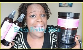 NATURAL HAIR | BLACK FRIDAY HAUL | ENTWINE COUTURE + OBIA NATURAL HAIRCARE