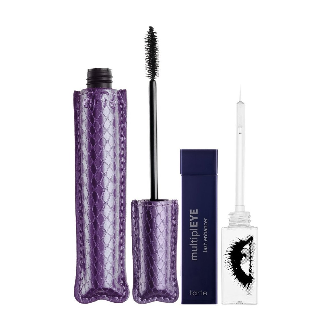 Tarte MultiplEYE Lash Enhancer And Lights, Camera, Lashes! Natural Mascara  Set | Beautylish