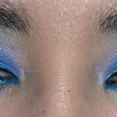 Azul e roxo