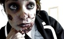 How to: ZOMBIE school girl makeup tutorial by Krystle Tips