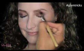 Bronzed Smokey Eye Preview!! Glam Tricks!
