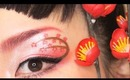 Japanese New Years Makeup ~ Ume Blossom 梅 ~