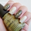 China Glaze Crackle Glitters - Jade-D