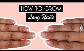 How To Grow Long Natural Nails | Kirakiranail ♡