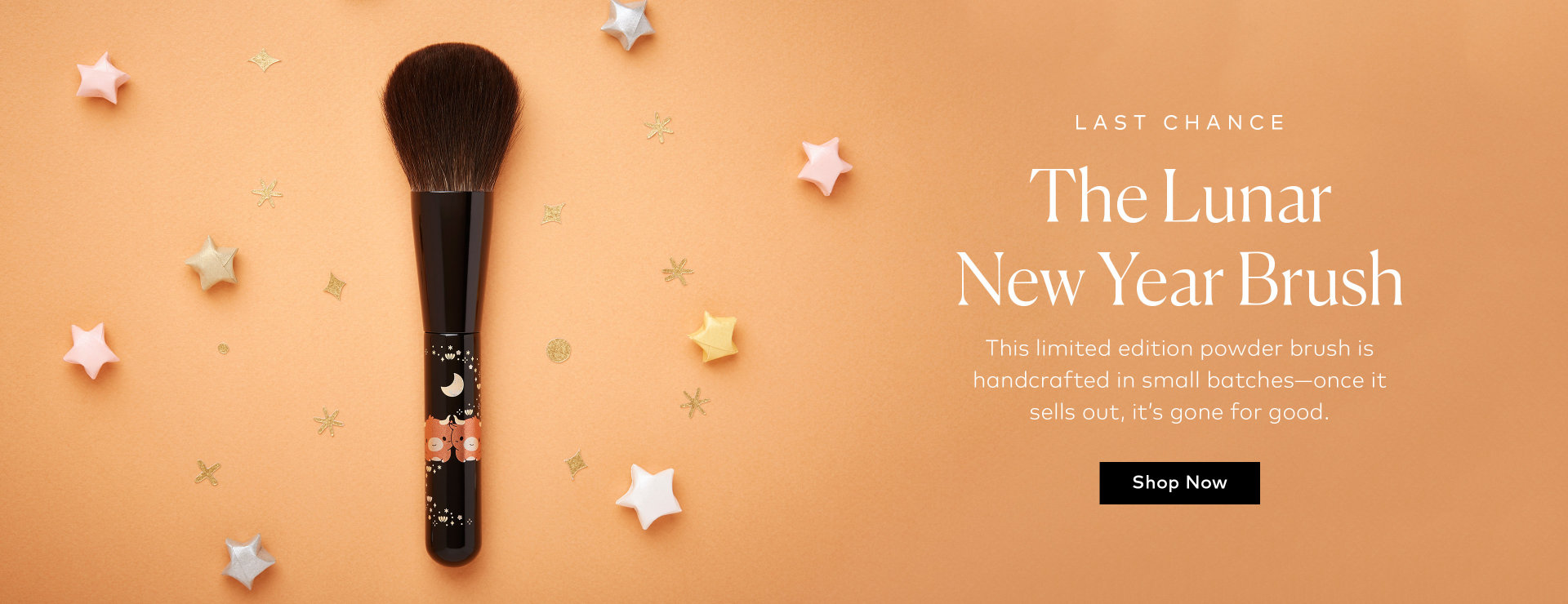 Last chance to shop the Lunar New Year Brush on Beautylish.com