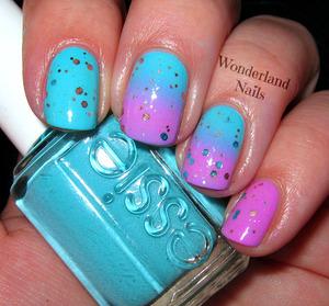 For more info please visit my blog http://wonderland-nails.blogspot.com/2013/06/whimsical-gradient.html
