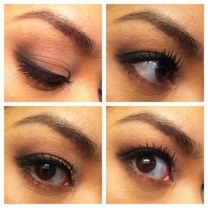 soft sultry smokey eye with smashbox, laura mercier, and bobbi brown products