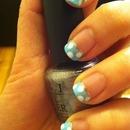 Cute Polka Dot Nail