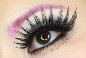Super thick and long black eyelashes from FalseEyelashesSite.com http://falseeyelashessite.com/301-Black-False-Eyelash.html