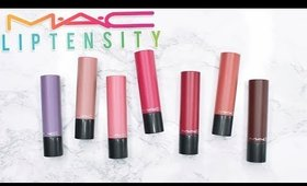 Review & Swatches: MAC Liptensity Lipsticks | Dupes!