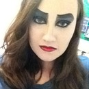 Rocky Horror Frank makeup