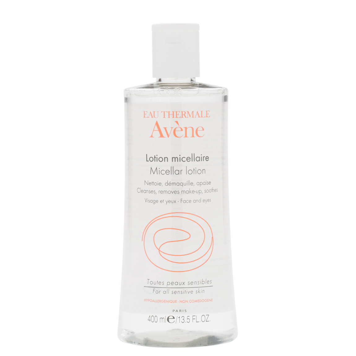 Eau Thermale Avène Micellar Lotion Cleansing and Make-Up Remover 400 ml product swatch.