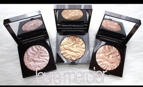 Review & Swatches: LAURA MERCIER Face Illuminating Powders | Holiday Palette Breakdown + Dupes!