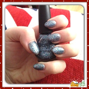 Happy holidays ❤🎄🎅 Nicole by OPI colour Snow-man of my dreams