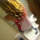 Wanded my hair!(: