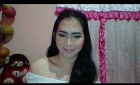 Simple Playful Make-up (Gio Avila) Filipino Transgender
