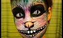 Halloween Series 2013: Chesire Cat Face Painting Tutorial