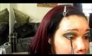 Goldenrod and Teal Makeup Tutorial