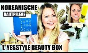 Neue Lieblingsprodukte? YesStyle Beauty Box September 2019 Review   Koreanische Hautpflege